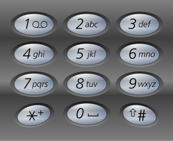 Old Type Phone Numbers With Letters